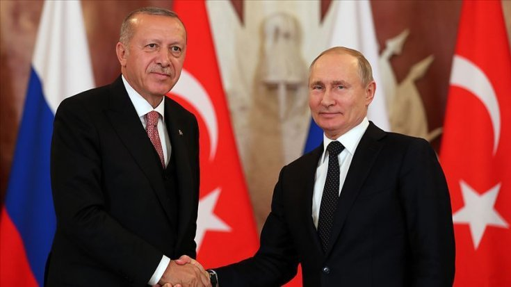 Putin ve Erdoğan, Türkiye'de Sputnik V aşısının ortak üretimini konuştu