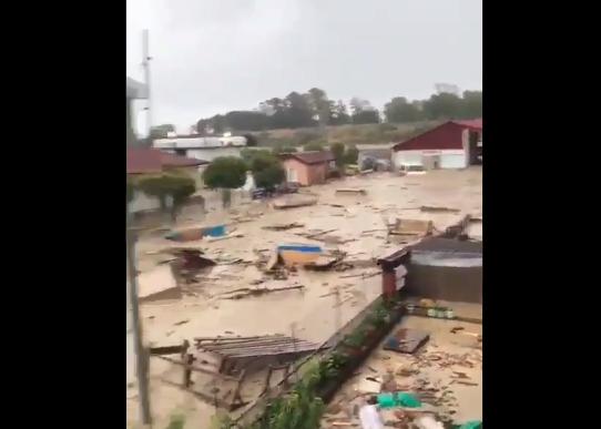 Sinop'ta sel felaketi: Dere taştı, evler yıkıldı