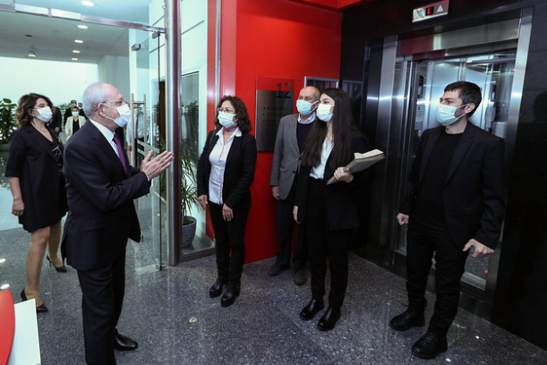 SOL Parti'den Kılıçdaroğlu'na ziyaret