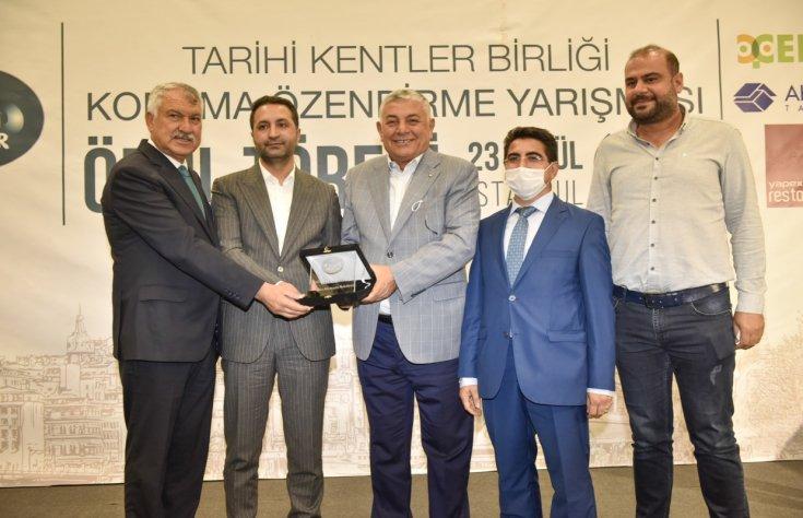 Tarihi Kentler Birliği'nden, Adana Büyükşehir Belediyesi'ne ödül