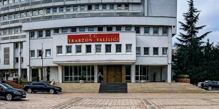 Trabzon Valiliği'nden vatandaşa 'evde kal' çağrısı