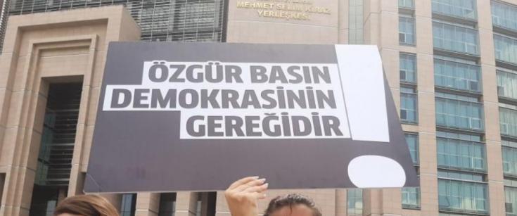 Türkiye basın özgürlüğünde 153'üncü sırada