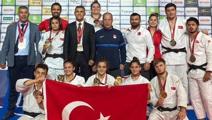 Türkiye judoda dünya üçüncüsü oldu