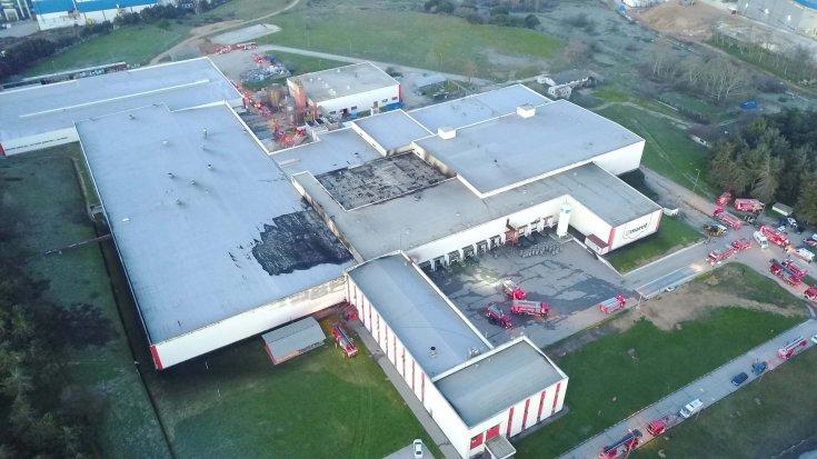 Tuzla'daki fabrikada yangınında 2 işçi hayatını kaybetti