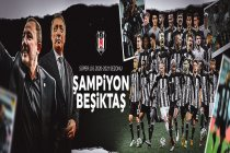 Beşiktaş 2020-2021 Süper Lig'in Şampiyonu oldu; Göztepe 1-2 Beşiktaş