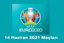 EURO 2020 14 Haziran maç programı