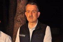 Orman Bakanı Pakdemirli Adana, Kozan yangının kontrol altına alındığını duyurdu