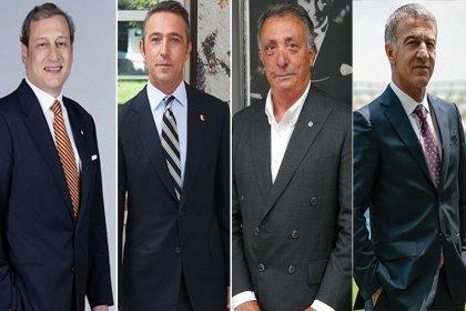 4 büyük kulüp başkanı bir araya geldi