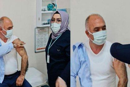 52 yaşındaki AKP'li belediye başkanı aşı oldu!