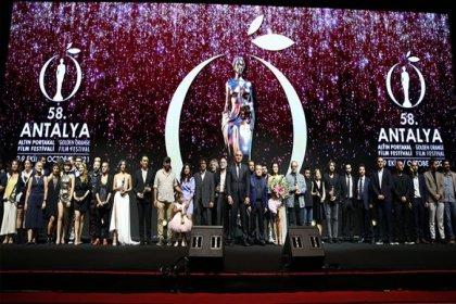 58'inci Antalya Altın Portakal ödülleri sahiplerini buldu