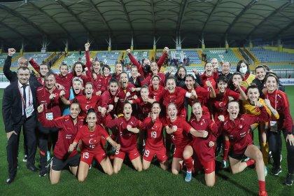 A Milli Kadın Futbol Takımı, Bulgaristan'ı 1-0 mağlup etti