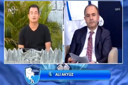 Acun Ilıcalı'nın düzenlediği Erzurumspor'a destek gecesine bağlanan yurttaş: 'Ben aç karnımı doyuramadım, Erzurum'a yardım mı edeceğim?'