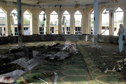 Afganistan'da camiye bombalı saldırı: 32 ölü, 53 yaralı