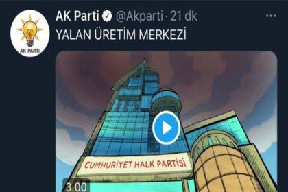 AKP,  sosyal medyada alay konusu 'yalan üretim merkezi' animasyonunu sildi
