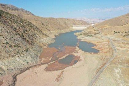AKP'li Elazığ Belediyesi: Hamzabey Barajı'nda içme ve kullanma suyu bitti