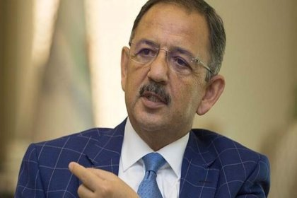 AKP'li Özhaseki CHP'li belediyeleri hedef aldı: 2 yıldır taş üstüne taş koymadılar