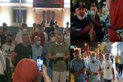 AKP'nin kalesi Konya'da esnaftan gece yarısı protesto