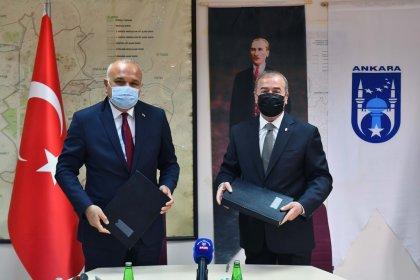 Ankara Büyükşehir Belediyesi ile Hacı Bayram Veli Üniversitesi arasında kültür varlıklarının korunması için protokol imzalandı