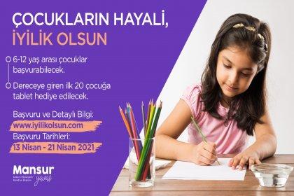 Ankara Büyükşehir Belediyesi'nden 23 Nisan'a özel resim yarışması