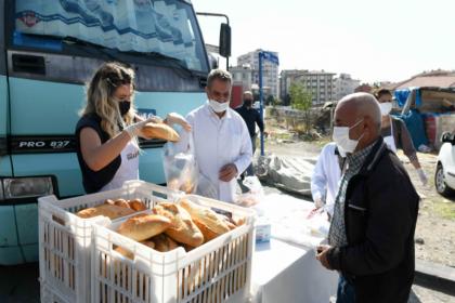 Ankara Halk Ekmek'in mobil fırını yeniden yollarda