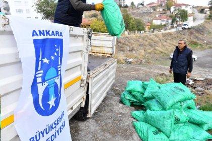 Ankara'da kömür parası hesaplara yatırıldı, kapıda dağıtım sona erdi: 'Bir elin verdiğini diğer el görmeden çalışmalarımızı sürdürüyoruz'