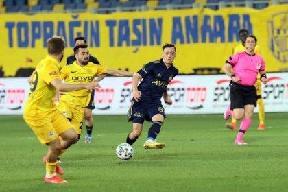 Fenerbahçe, Ankaragücü'nü evinde 2-1 yendi