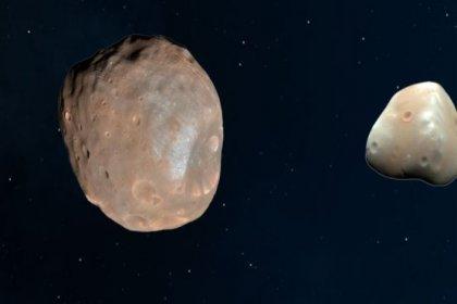 Araştırma: Mars'ın uyduları Phobos ve Deimos muhtemelen bir zamanlar tek bir cisimdi