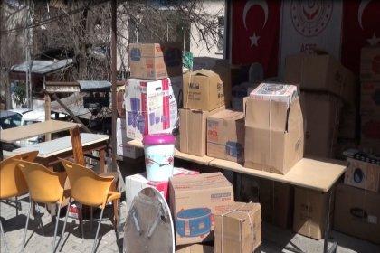 Artvin'de yanan köyden çağrı: Lütfen bize bundan sonra gıda, eşya ve elbise yardımı yapmasınlar, her şey fazlasıyla geldi