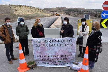 'Atatürk Orman Çiftliği yollarla talan edilemez'