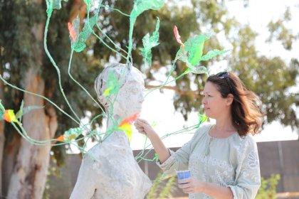 Atık malzeme, Altın Portakal Film Festivali'nin simgesi 'Venüs Heykeli'ne dönüştü