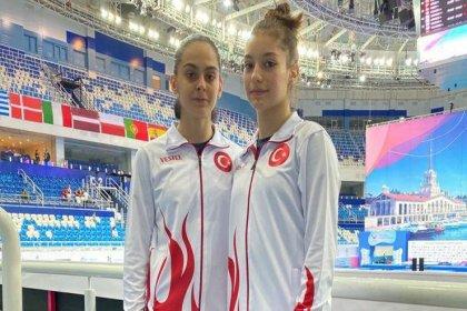 Avrupa Trampolin Cimnastik Şampiyonası'nda Elif Çolak ve Sıla Karakuş gümüş madalya kazandı