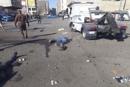 Bağdat'ta çifte intihar saldırısı: 21 ölü, en az 44 yaralı