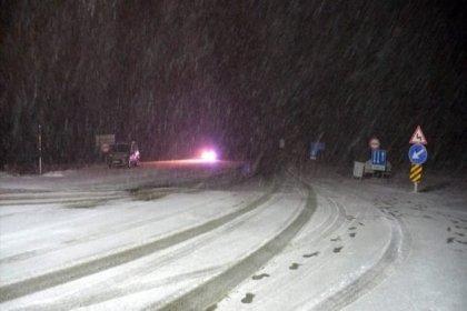 Balkanlardan soğuk hava geldi; Trakya'da kar başladı