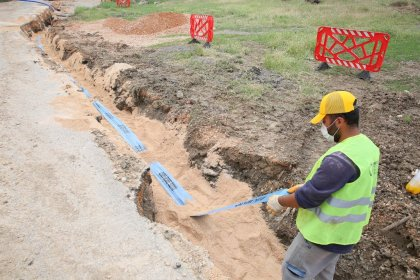 Başkentin içme suyu hatları asbestli borulardan temizleniyor
