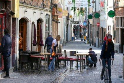 Belçika'da 7 aydır uygulanan sokağa çıkma kısıtlamaları sona erdi