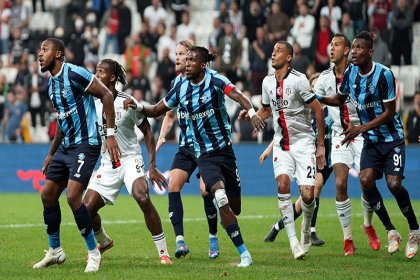 Beşiktaş 3-3 Adana Demirspor