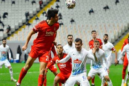 Beşiktaş, Çaykur Rizespor'u 1-0 mağlup etti
