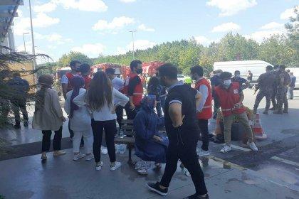 Beyoğlu'nda yangın: 5 işçi yaralandı