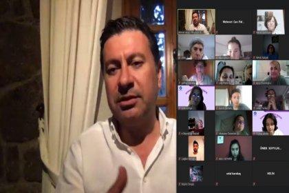 Bodrum Belediye Başkanı Ahmet Aras gençlerle buluştu