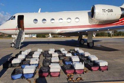 Brezilya polisi, Türk şirkete ait uçakta bir ton kokain ele geçirdi