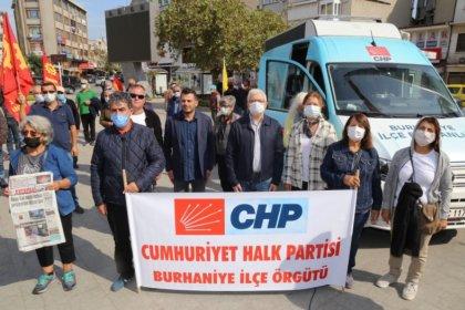 Burhaniye'de 10 Ekim Ankara Gar Katliamı anması