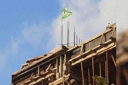 Cami inşaatına asılan 'hilafet bayrağı' ile ilgili soruşturma başlatıldı