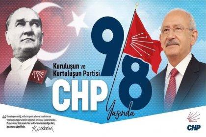 CHP 98 yaşında!