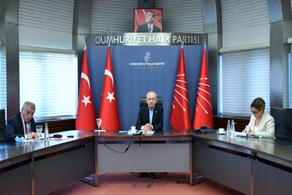 CHP Dış Politika Danışma Kurulu temmuz ayı toplantısı gerçekleşti