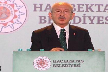Kılıçdaroğlu, 58. Ulusal, 32. Uluslararası Hacı Bektaş Veli Anma Törenlerinde konuştu; 'İyi insan olarak yaşamın temeli; Ahlak'