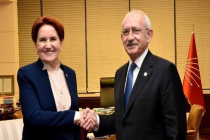 CHP Genel Başkanı Kemal Kılıçdaroğlu, İYİ Parti Genel Başkanı Meral Akşener ve heyetini kabul edecek