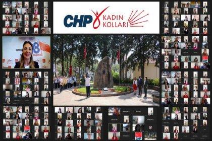CHP Kadın Kolları Anneler Günü'nde Zübeyde Hanım'ın kabrinde tören düzenledi