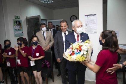 CHP lideri Kılıçdaroğlu Mersin'de