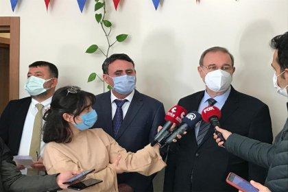 CHP Sözcüsü Faik Öztrak kantinci esnafı ile görüştü