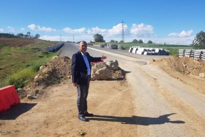 CHP'li Aygun: Tekirdağ'da yollar yarım yamalak